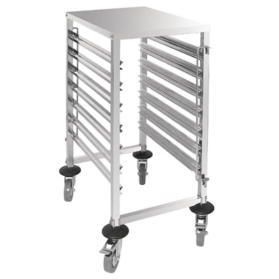 Vogue Gastronorm Racking Trolley 7 Level