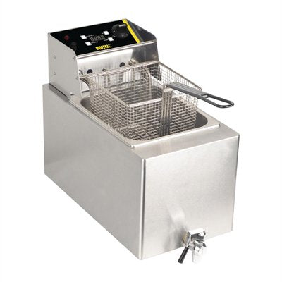 Buffalo Single Tank Countertop Fryer 8Ltr