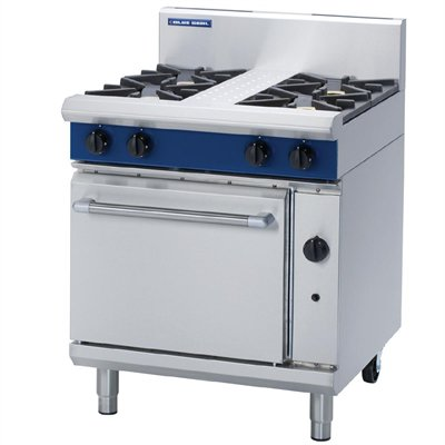 Blue Seal Evolution 4 Burner Static Oven 750mm