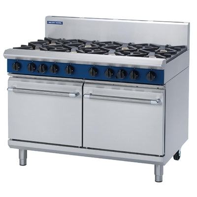 Blue Seal Evolution 8 Burner Double Static Oven 1200mm