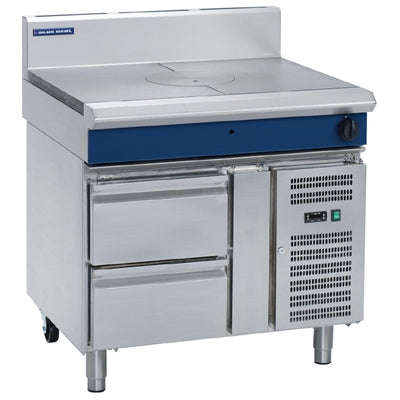 Blue Seal Evolution Target Top with Refrigerated Base 900mm