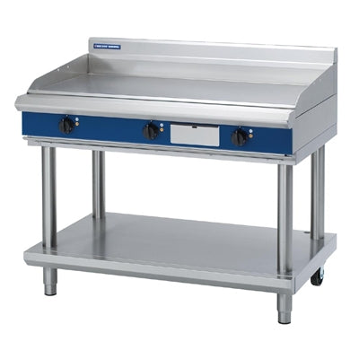 Blue Seal Evolution Chrome Griddle with Leg Stand Electric1200mm EP518-LS