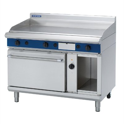 Blue Seal Evolution Chrome Griddle Electric Convection Oven 1200mm