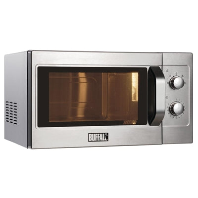 Buffalo Manual Commercial Microwave Oven 1100W