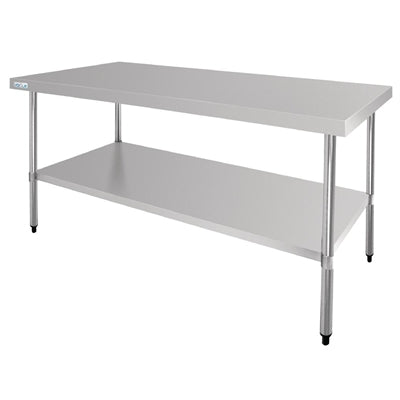 Vogue Stainless Steel Centre Table 1800mm