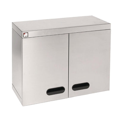 Parry Stainless Steel Hinged Wall Cupboard 750mm