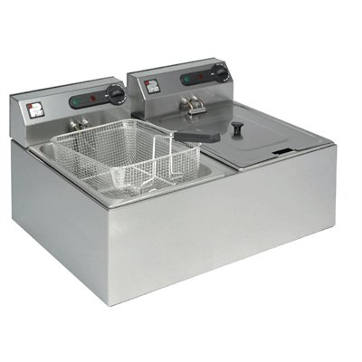Parry Double Tank Countertop Fryer 1862