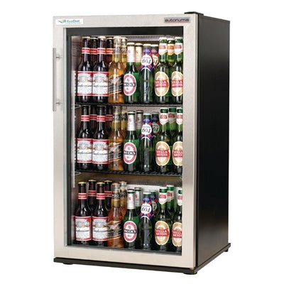 Autonumis EcoChill 1 Door Back Bar Cooler St/St Door A209196
