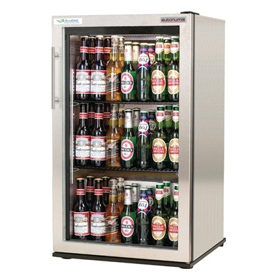 Autonumis EcoChill 1 Door Back Bar Cooler St/St A20983