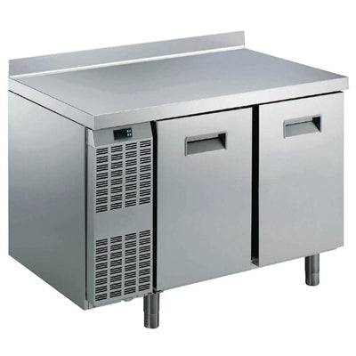 Electrolux Benefit Line Refrigeration Counter 2 Door 265Ltr St/St with Upstand RCSN2M2U