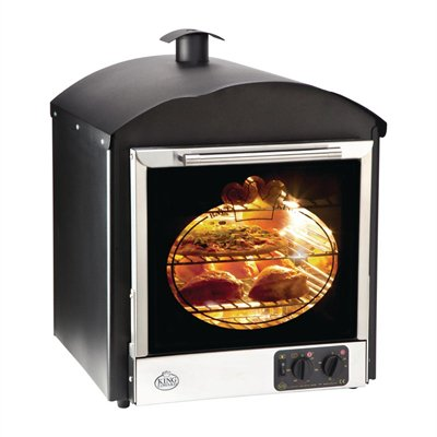 King Edward Bake King Solo Oven Black BKS-BLK