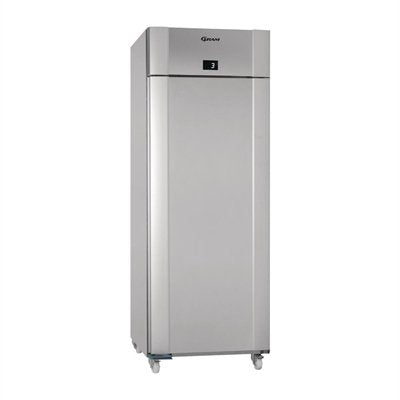 Gram Eco Twin 1 Door 614Ltr Fridge Vario Silver