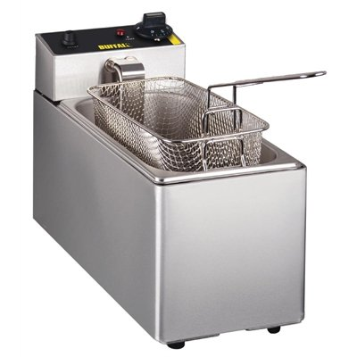 Buffalo Single Tank Countertop Fryer 3Ltr