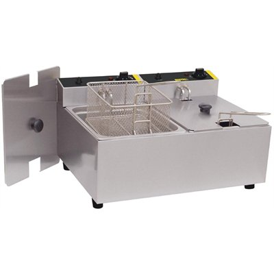 Buffalo Double Tank Countertop Fryer 2 x 5 Ltr