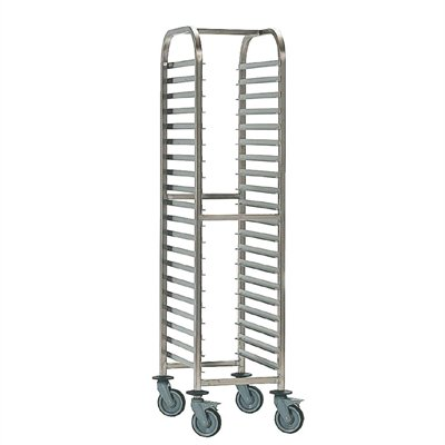 Bourgeat Full Gastronorm Racking Trolley 20 Shelf