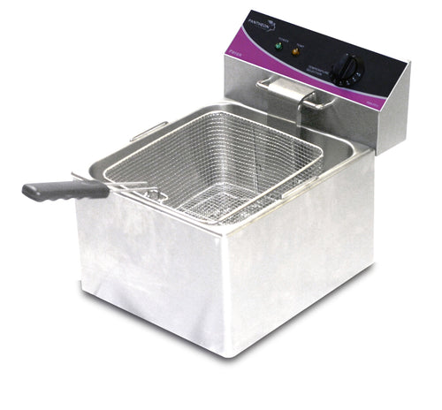 Pantheon Commercial Single Large Electric Fryer 1 x 11ltr