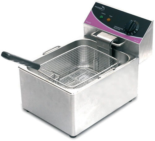 Pantheon Commercial Single Electric Fryer 1 x 6ltr