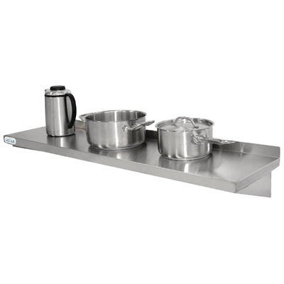 Premium Heavy Duty Stainless Steel Kitchen Shelf 600mm