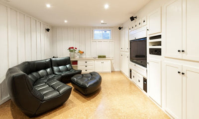 How To Pick the Right Lighting for Your Basement