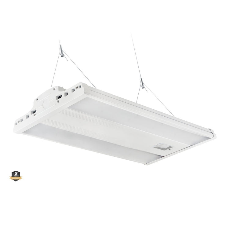 2ft LED Linear High Bay Light, 165W, Chain Mounting Included, 22,000 Lumens - Eco LED Mart