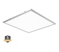 2x2 LED Flat Panel, Wattage Adjustable 20W, 30W, 40W, CCT 3K, 4K, 5K, Dimmable