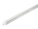 4FT LED Integrated Tube, LED Shop Light, 22W, 6500K, 2,640 Lumens, with Cables and Clips - Eco LED Mart