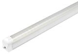 8FT LED Integrated Tube, LED Shop Light, 60W, 6500K, 7,200 Lumens, with Cables and Clips - Eco LED Mart