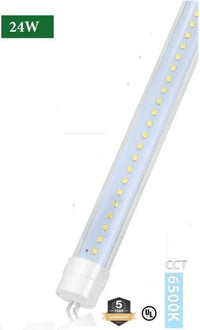 T5 4FT LED Tube, 24W, Bypass Ballast, High Output, Double End Power, 5000K & 6500K - Eco LED Mart