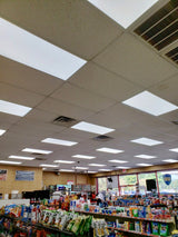 2x4 LED Flat Panel, 72W, 7920 Lumens, Dimmable, 6500K - Eco LED Mart