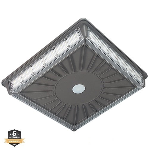 LED Canopy Light, 70W, Parking Garage Canopy, 5000K, 8,117 Lumens