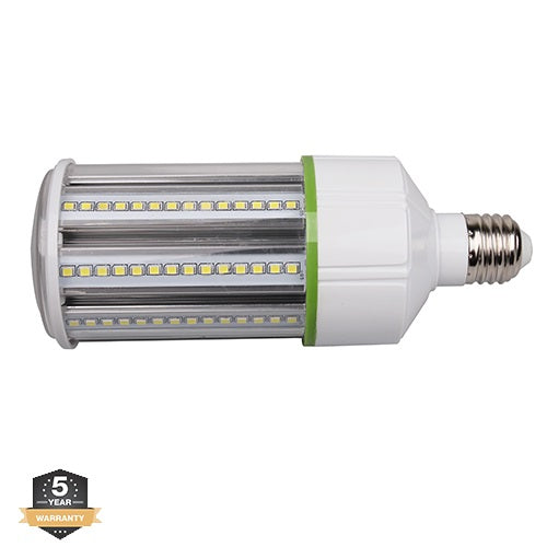 LED Corn Bulb, 19W, Medium Base (E26), Equivalent to 70W Metal Halide, 5700K, 2,565 Lumens