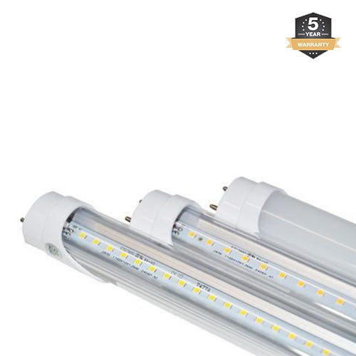T8 4FT LED Tube Light, 18W, Bypass Ballast, Double Ended Power, 5000K - Eco LED Mart