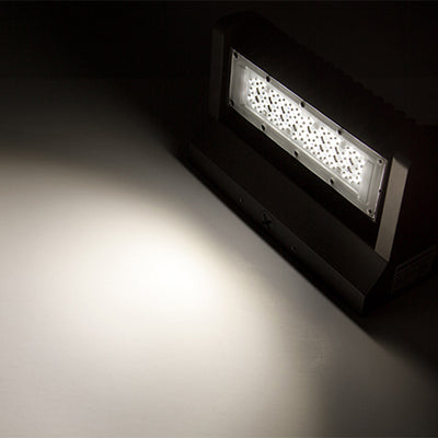 LED Wall Pack, 40W, Rotatable, 5700K, 5,000 Lumens - Eco LED Mart