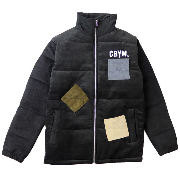 Cut+Paste Corduroy Puffer Jacket