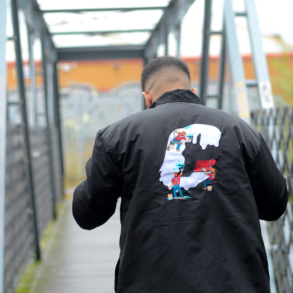 Drip Delivery coach jacket