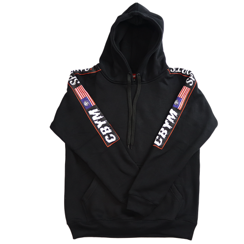 Black ringside sports Hoodie