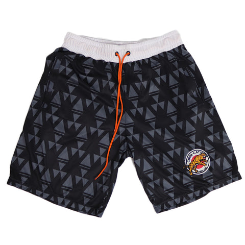 Retro sports club shorts black II