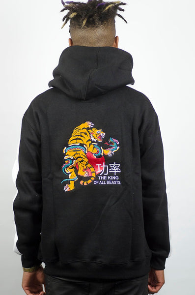 TradiTional Tiger Hoodie