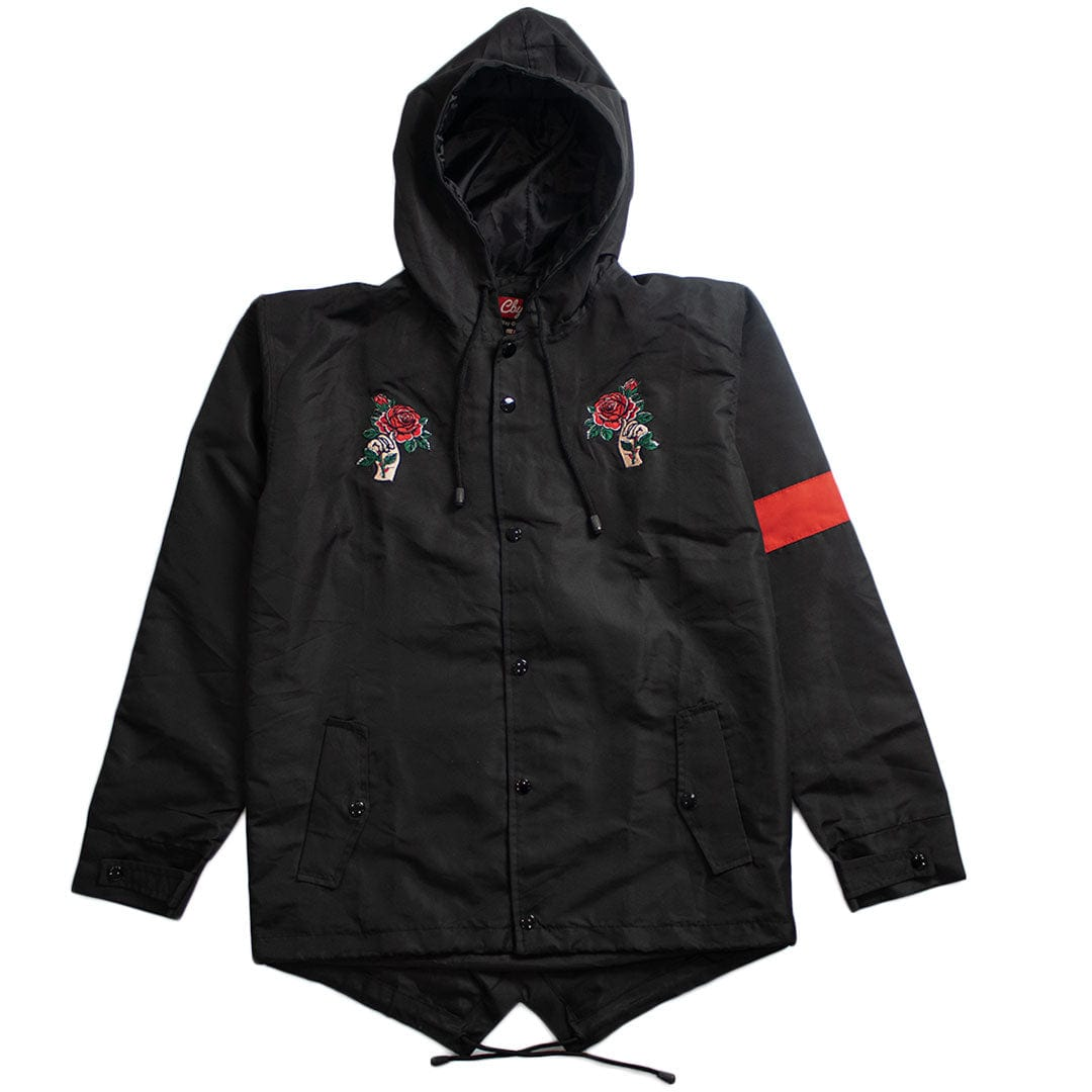 Florist Black Windbreaker