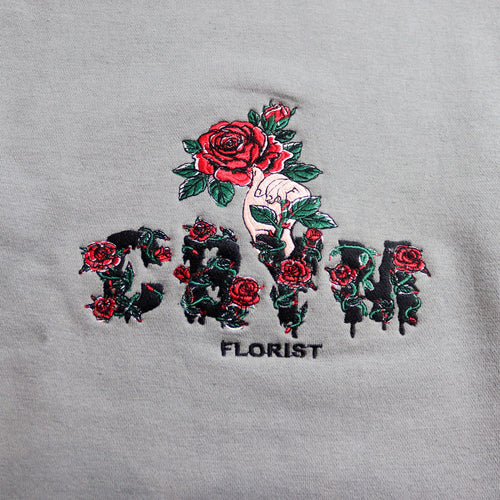 Florist Grey Sweatshirt