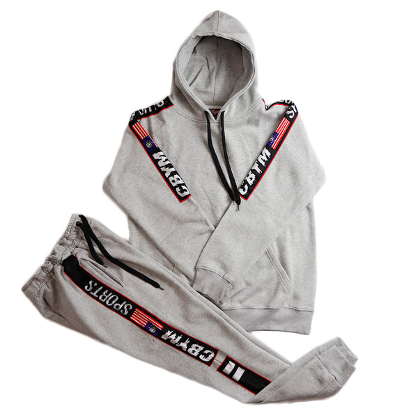 Grey Ringside sports tracksuit