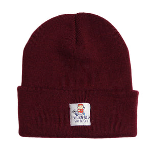 Athlete Beanie Burgundy