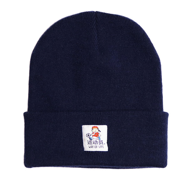 Athlete Beanie Navy