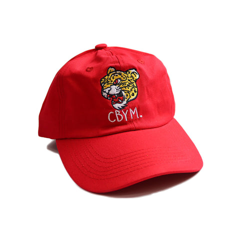 Red sports club dad hat