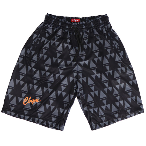 Retro sports club shorts black