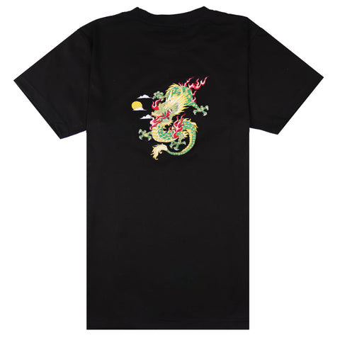 Vietnam Sunrise Black T-shirt