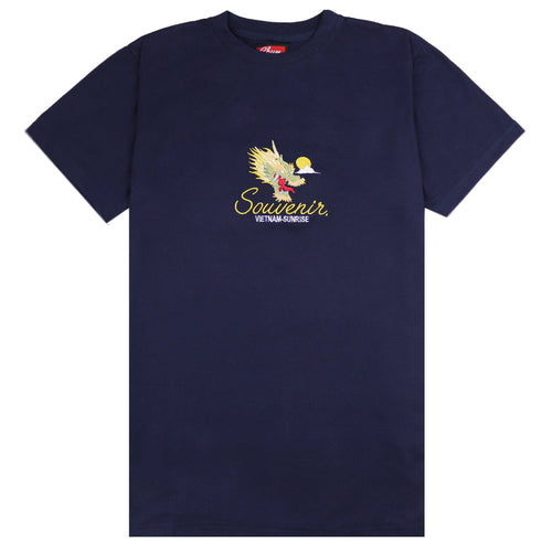 Vietnam Sunrise Navy T-shirt