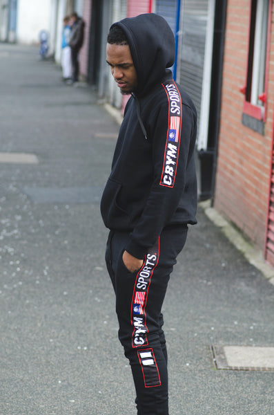 Black Ringside sports tracksuit