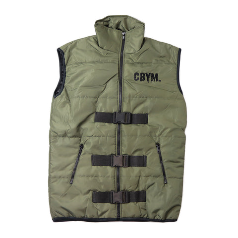 Khaki Tactical Vest Windbreaker