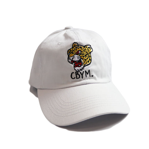 White sports club dad hat